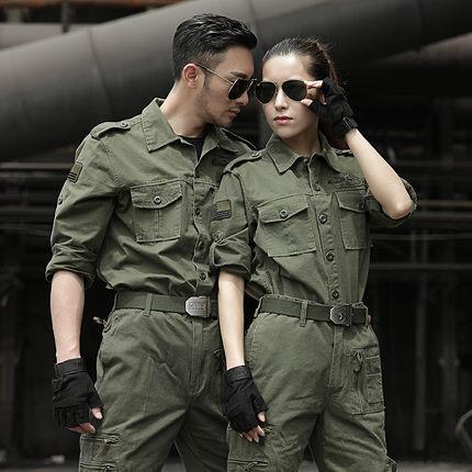 Áo nguỵ trang lính Bộ quần áo sư đoàn dù ngoài trời, quân phục rằn ri đặc công, quân phục dã chiến,