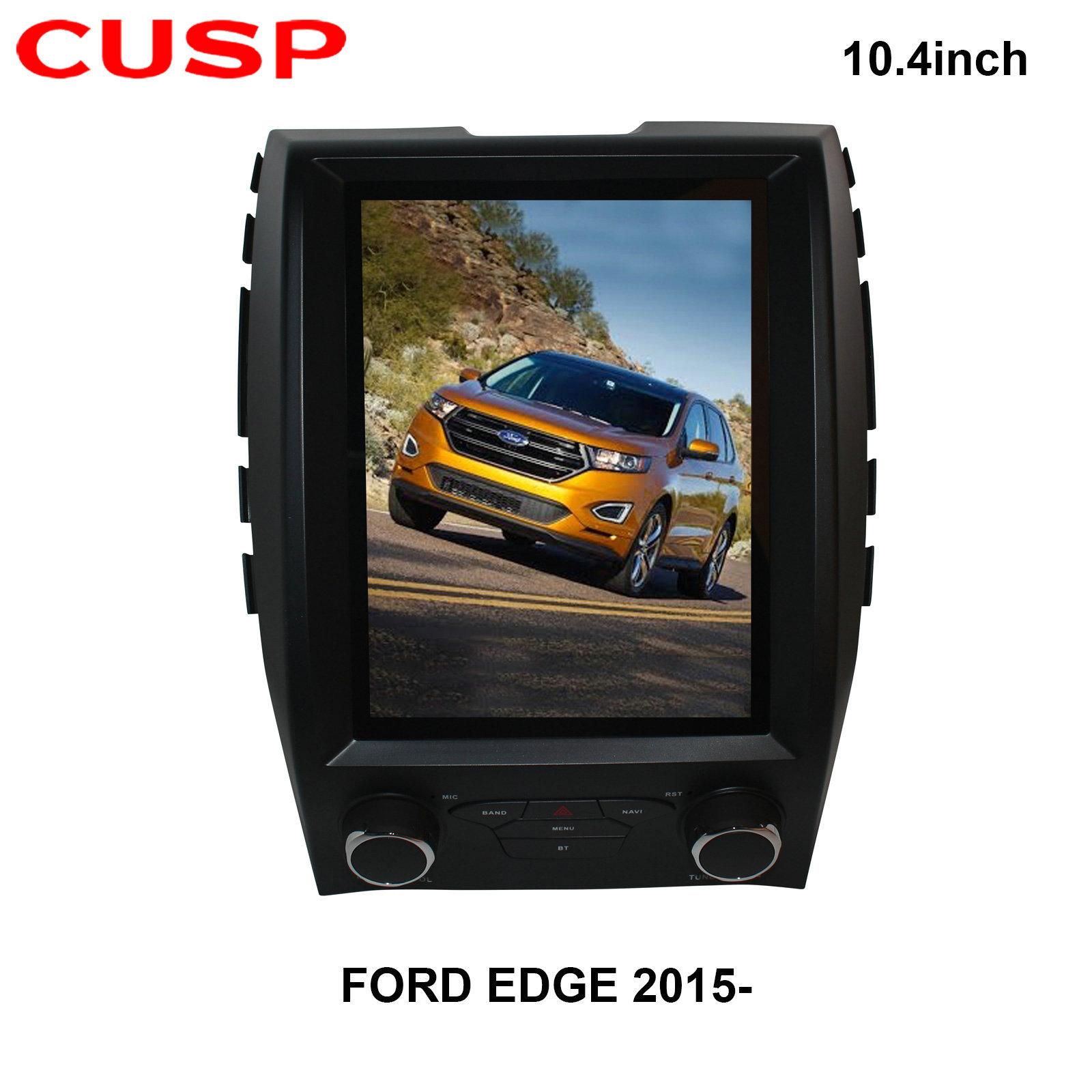 CUSP Vertical screen sharp world automatic air conditioner 10.4-inch car audio and video car GPS And