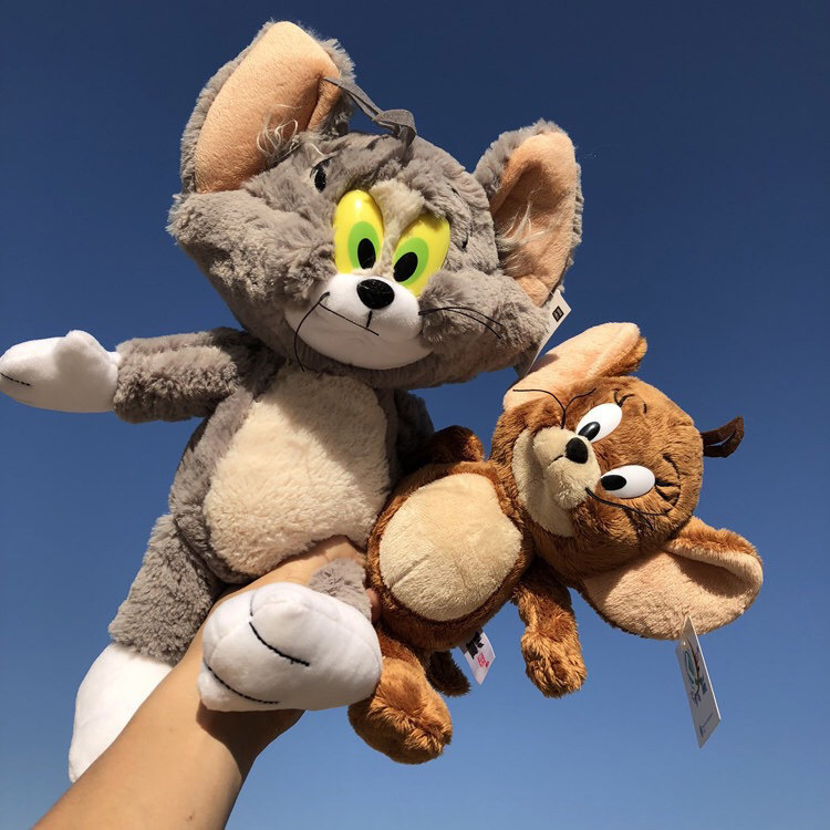 NICI cat and mouse plush toy Tom and Jerry doll ragdoll children's birthday gift