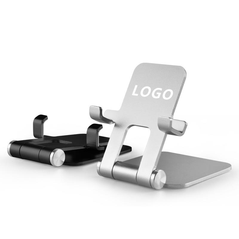HENGLIYUAN Mobile phone desktop stand, desktop adjustable portable metal stand, flat panel live broa