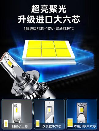 Đèn xe Thích hợp cho Honda Accord Civic thế hệ thứ mười đèn pha LED XRV Lingpai crv Jed Fit Crown Da