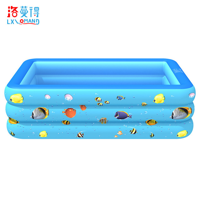 Inflatable pool Home indoor and outdoor baby pool i square inflatable paddling pool PVC inflatable p