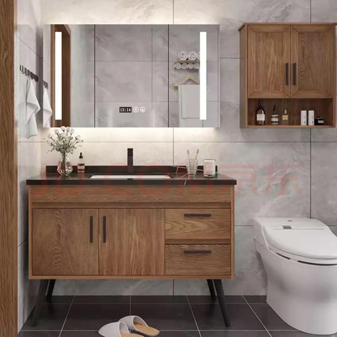 Cung cấp Tất cả các tủ phòng tắm bằng gỗ rắn hiện đại tối giản