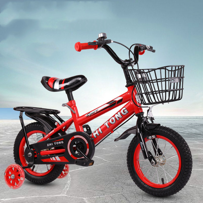 ZHILINGTONG Children's bicycles 3 years old men and women baby bicycles 2-4-6 years old baby bicycl