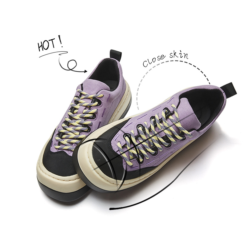Loaf women's shoes spring/summer 2021 new casual flat women's sneakers women's net celebrity tren
