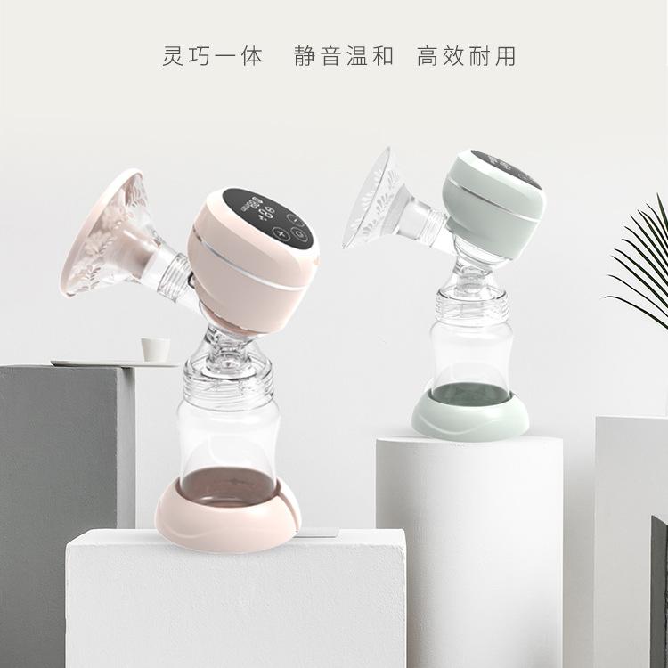 Cobb source manufacturer electric breast pump integrated intelligent silicone massage prolactin devi