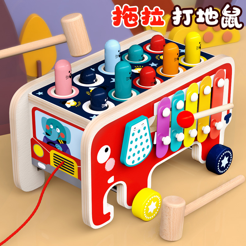 Hamster game toys young children benefit intelligence brain baby 1 one 3 two-year-old boy 0 girl bab