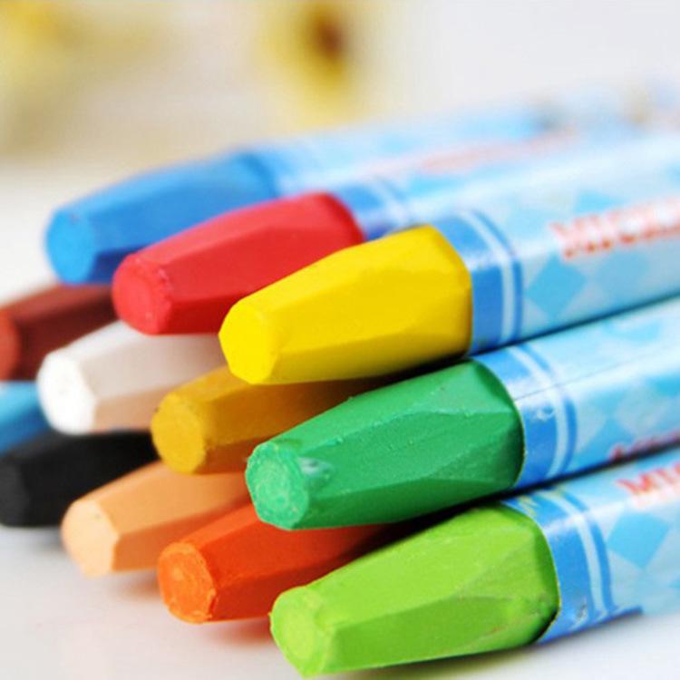 MAICAO 12/18/24 color oil pastel children crayon art stationery kindergarten coloring graffiti paint
