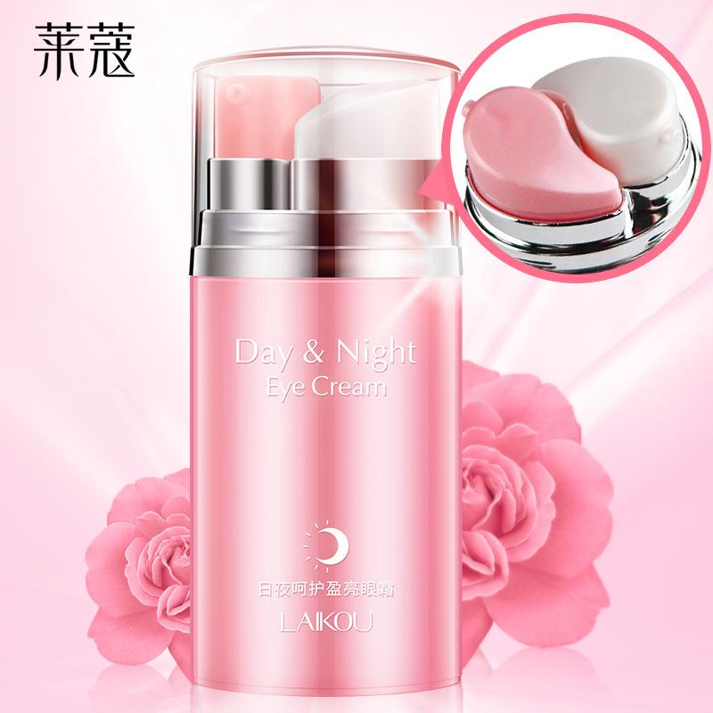 LAIKOU Kem dưỡng mắt Lycome nhà sản xuất tinh dầu hoa hồng ngày và đêm kem mắt 20g nhanh tay lắc mỹ