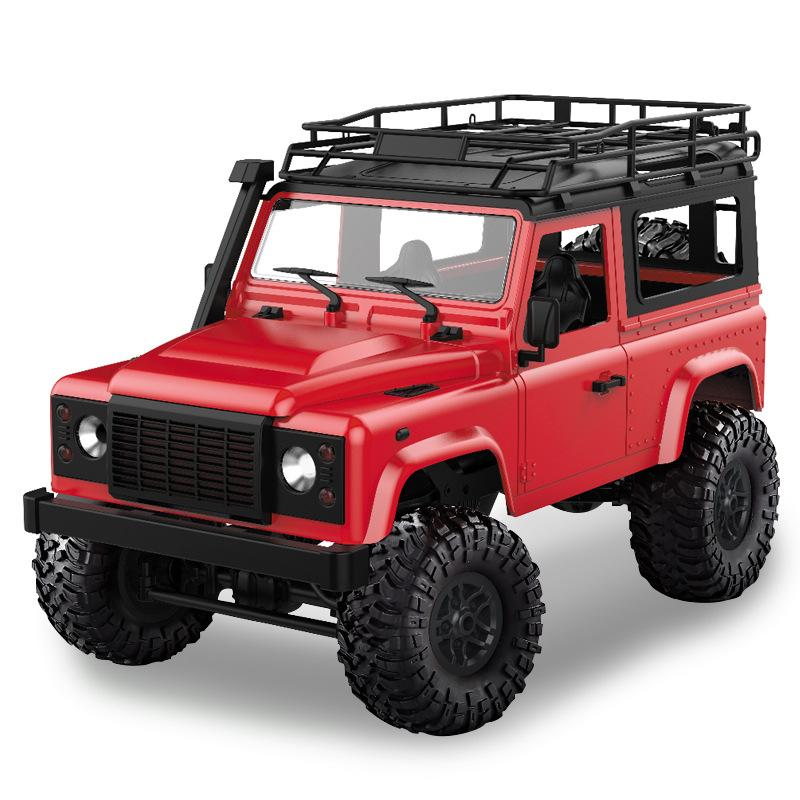 MN MODEL Mangniu car model children's toy car plastic off-road vehicle alloy car remote control set