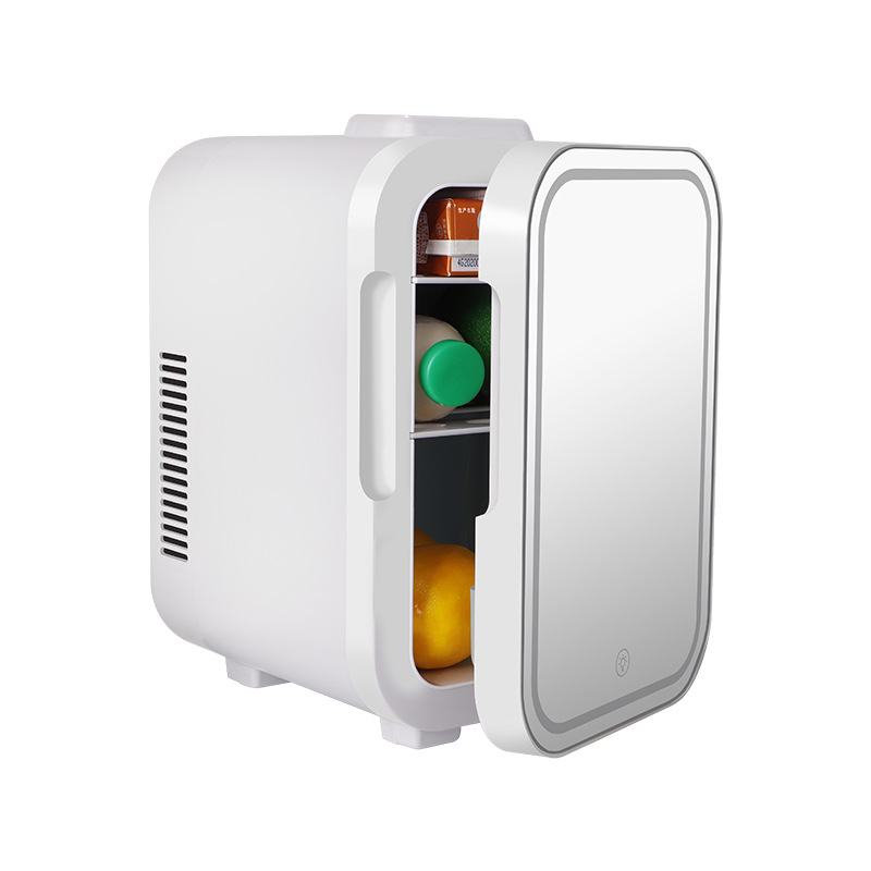 Car refrigerator and car dual-use 4L6L mini refrigerated portable heating and cooling box heating an