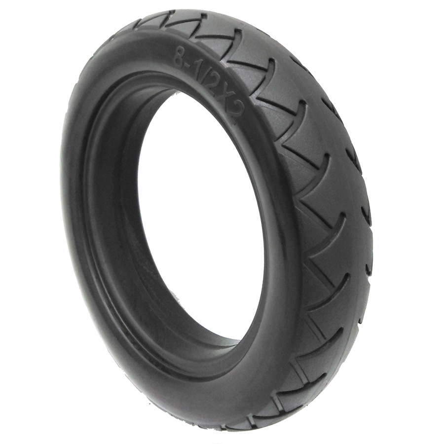 8.5 inch millet scooter tire PU solid tire 8 1/2X2 electric scooter free pneumatic tire