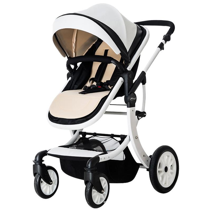 xe đẩy em bé teknum có thể ngồi, ngả, giảm sóc gấp gọn