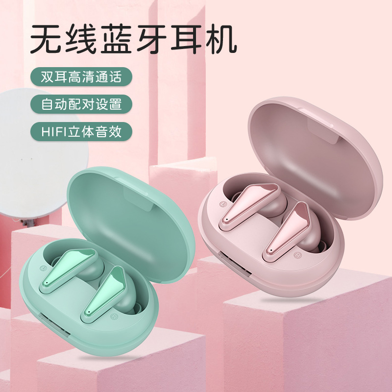 Mctlamp The new private model Bluetooth 5.0 sports binaural cross-border delivery popular wireless h