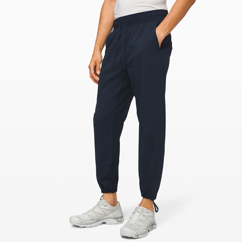 lulu Lulu lemon autumn and winter men's fitness sports pants running quick-drying breathable casual