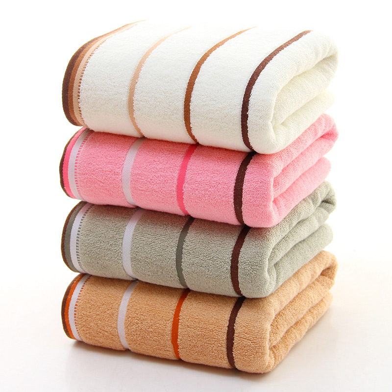 YIHENG Pure Cotton Absorbent Towel Household Adult Soft Face Towel Plain Satin Face Towel