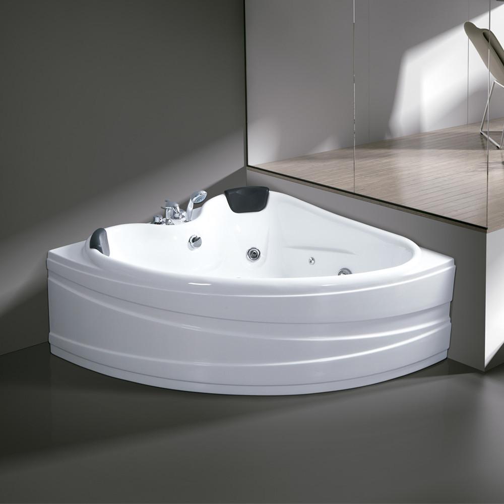 KINGSUN Acrylic bathtub 1.5 meters surf massage bath tub hotel home bathtub