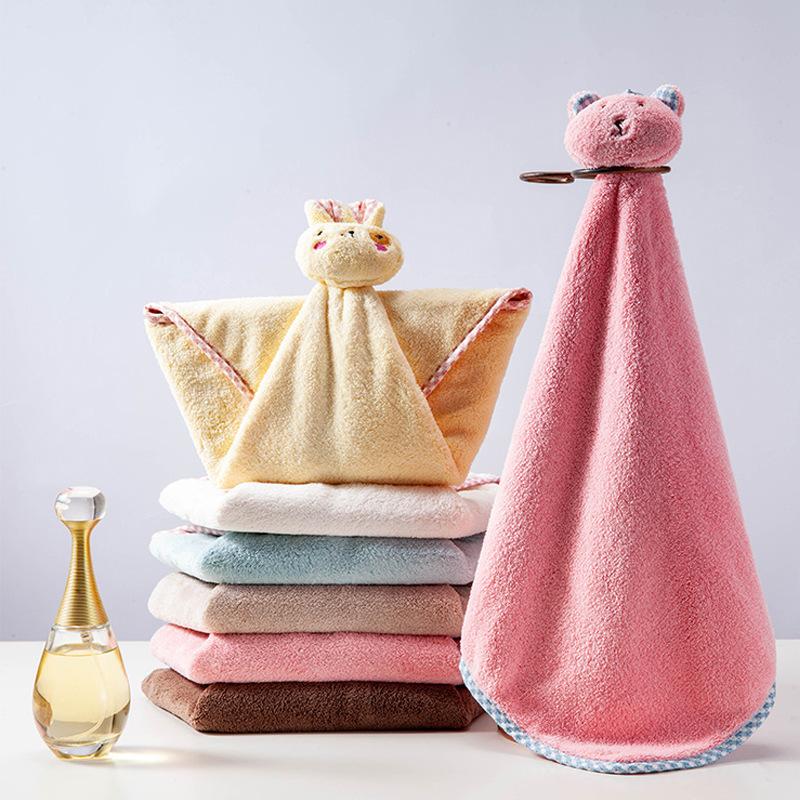 Baby towels, coral fleece, kitchen and bathroom hand towels, handkerchiefs, super absorbent children