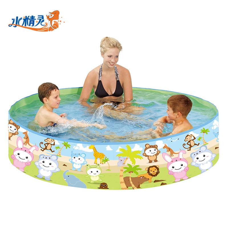 Family swimming pool baby adult home paddling pool ocean ball children cartoon thickened round swimm
