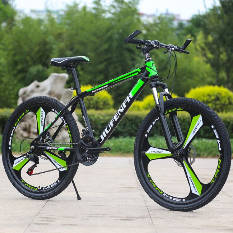 26 inch 21 speed variable speed shock absorption mountain bike male and female student bike