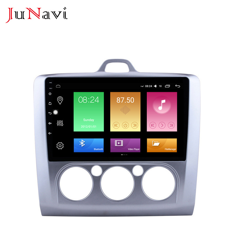 Suitable for Ford Focus manual air conditioner 06-14 Android large screen car central control GPS na