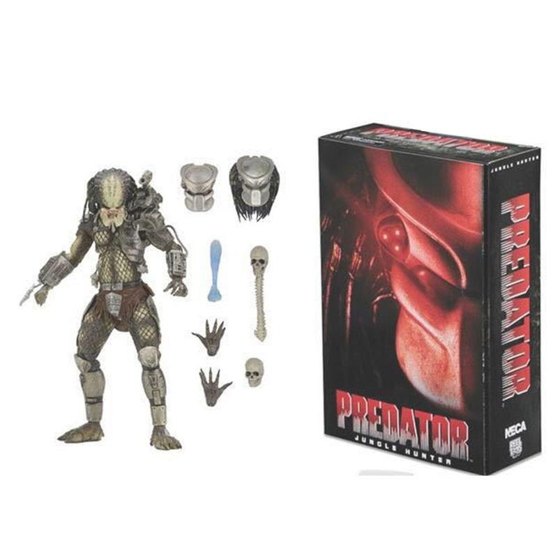 WANSHANGYING Predator Anime Peripheral Model Action Figure Hand Office Aberdeen Decoration Toy Figur