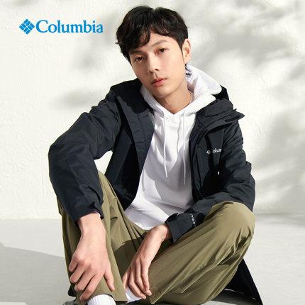 Columbia  Quần áo leo núi  21 Áo khoác chống thấm ngoài trời mới cho nam giới mùa xuân và mùa thu Áo