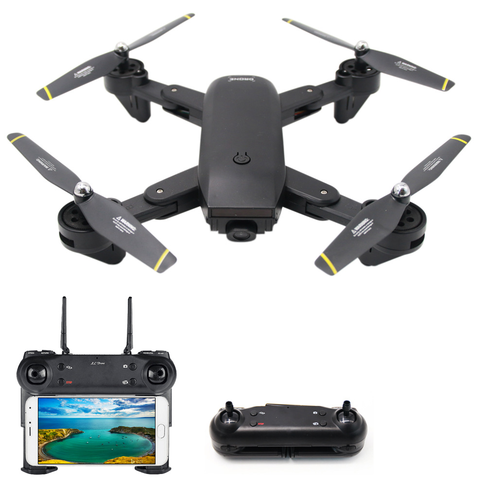 DAMING Quadrocopter optical flow fixed height 4K aerial photography drone WiFi sensor remote control