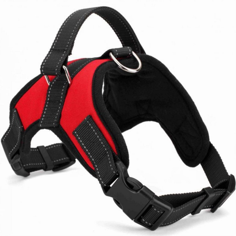 New style pet chest harness Explosion-proof red pet leash dog harness