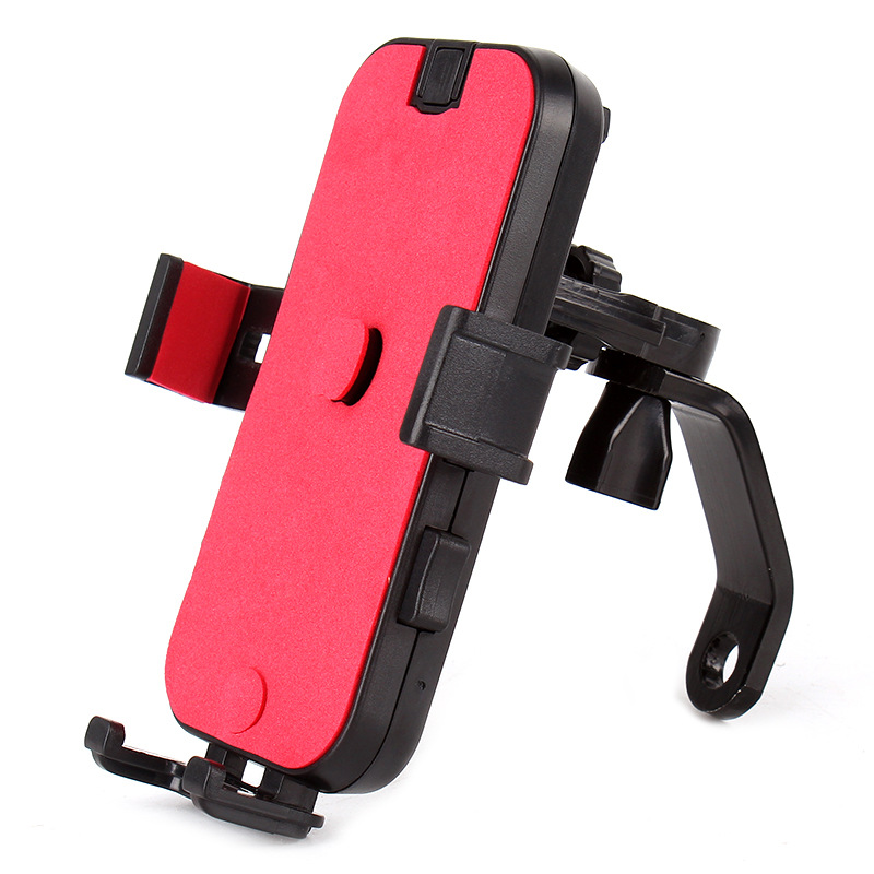 YPAY Motorcycle mobile phone holder Bicycle riding equipment mobile phone holder Outside rider auto-