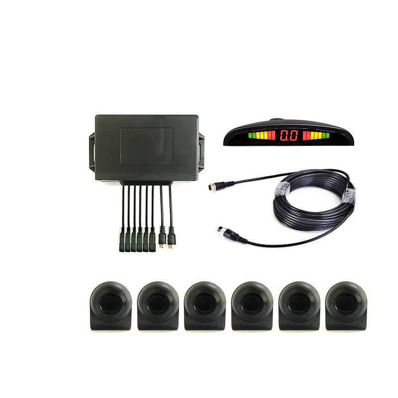 Reversing radar for large trucks, trucks, commercial vehicles, buses, special LED radars for enginee