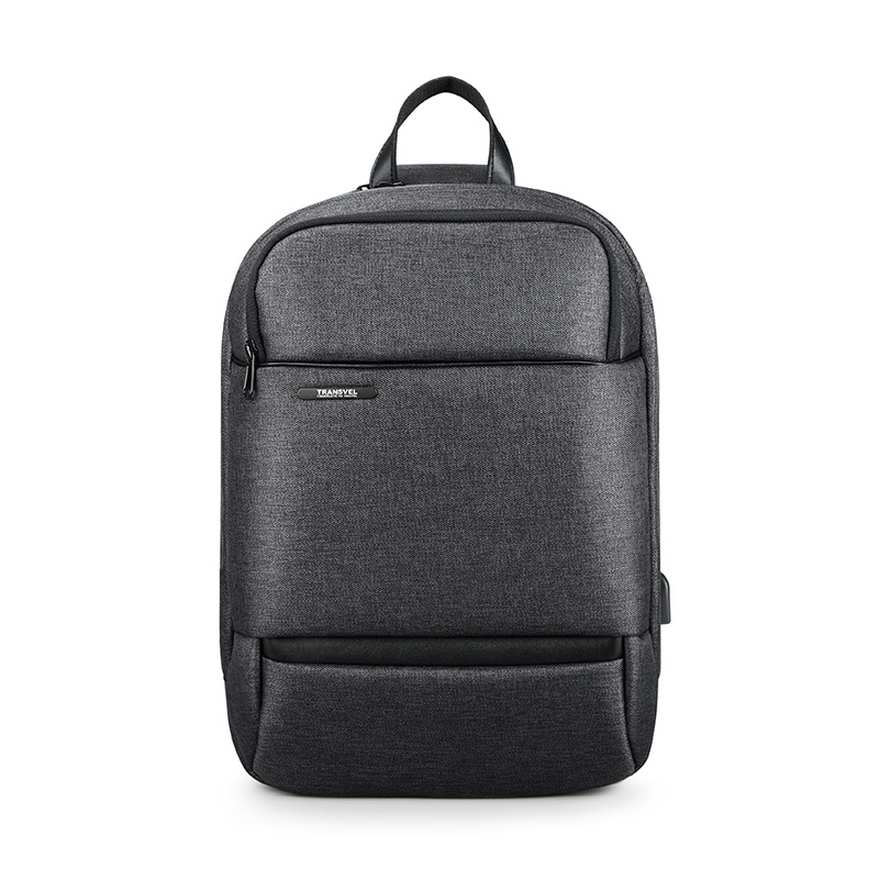Men's casual messenger bag water repellent simple men's single shoulder bag large capacity men's