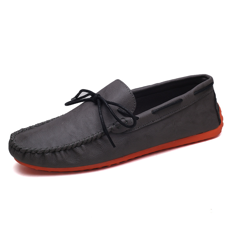 European station peas shoes men Korean trend shoes social net red spirit guy driving shoes men pedal