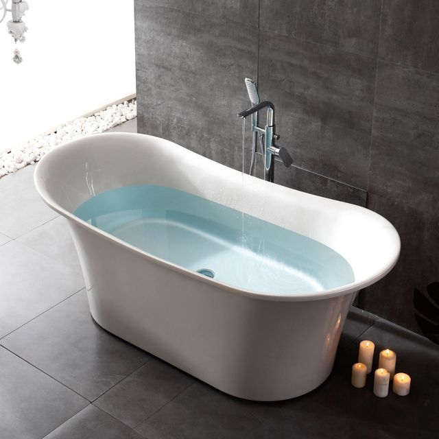 Easybath French standard high-quality hotel home adult soaking bathtub acrylic custom independent ch
