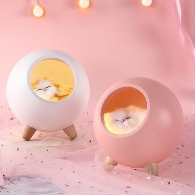 ZIYOUMO Đèn tường Trang trí đầu giường nhà sáng tạo dễ thương Đèn bầu không khí USB xuyên biên giới