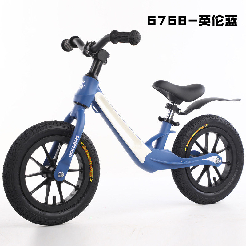 SHIPHOP Magnesium Alloy Children's Balance Scooter Scooter Baby No Pedal Bicycle 1-3-6 Years Old Sc