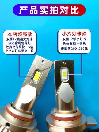Đèn xe Đèn pha LED chuyên dụng Civic thế hệ thứ mười được sửa đổi Đèn pha chùm tia thấp siêu sáng Đè