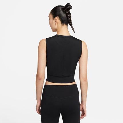Nike Áo thun mau khô  Nike Official DRI-FIT Áo vest tập ngắn dành cho nữ Nhanh khô, Vừa vặn, Nhẹ nhà