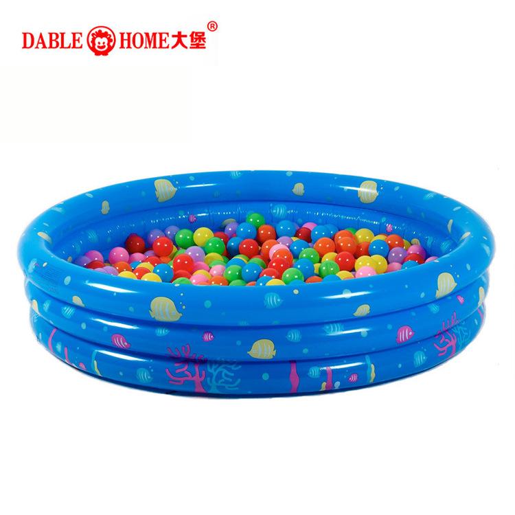 INTIME Yingtai Three-ring Ocean Ball Pool Ball Pool Inflatable Pool Children's Paddling Pool Baby P