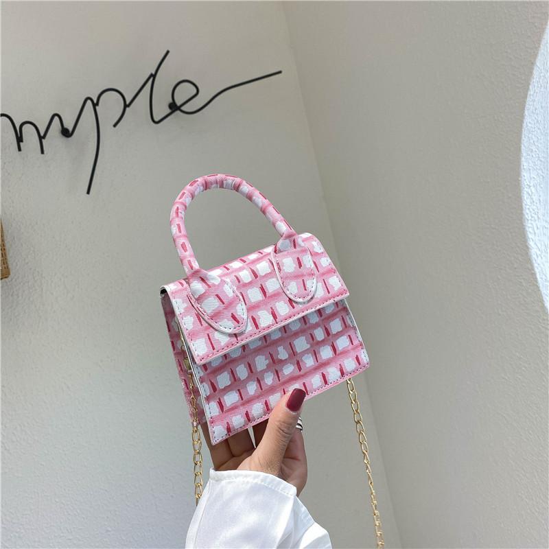 Bag women 2020 summer new fashion all-match chain small square bag women's single shoulder diagonal