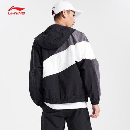 Quần áo leo núi  Trang web chính thức của áo khoác gió Li Ning dành cho nam giới áo khoác dài tay mớ