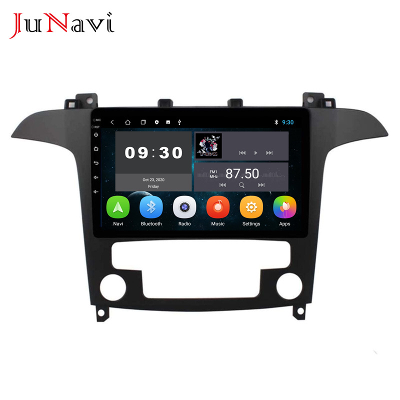 4 + 64G is suitable for Ford Max Navigation Android large screen Bluetooth multimedia player semi-au