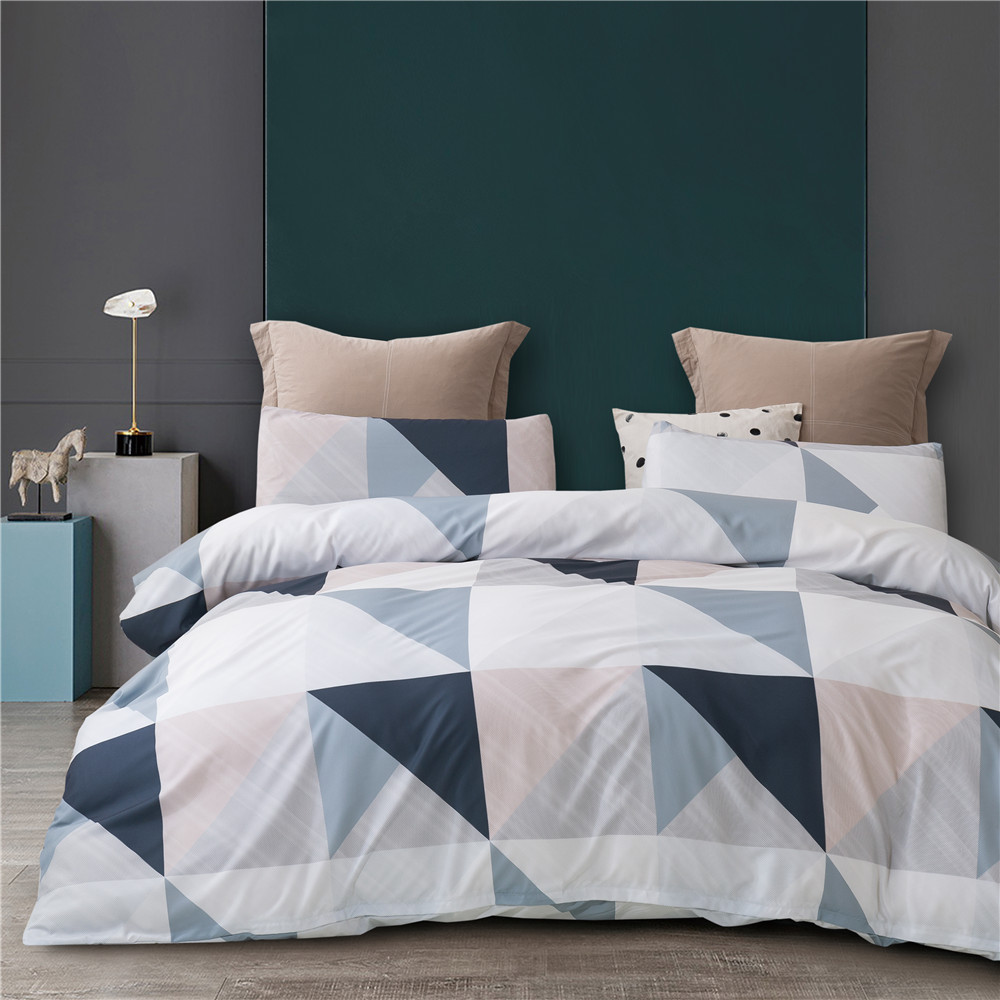 WEIOU Three-piece summer printed quilt cover foreign trade bedding