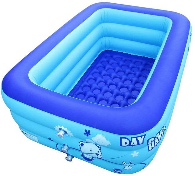 Thickened three-layer adult children swimming pool pvc swimming pool baby swimming pool
