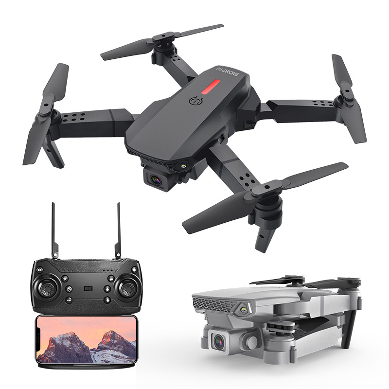 P1 folding quadcopter remote control drone aerial photography folding wifi remote control airplane t