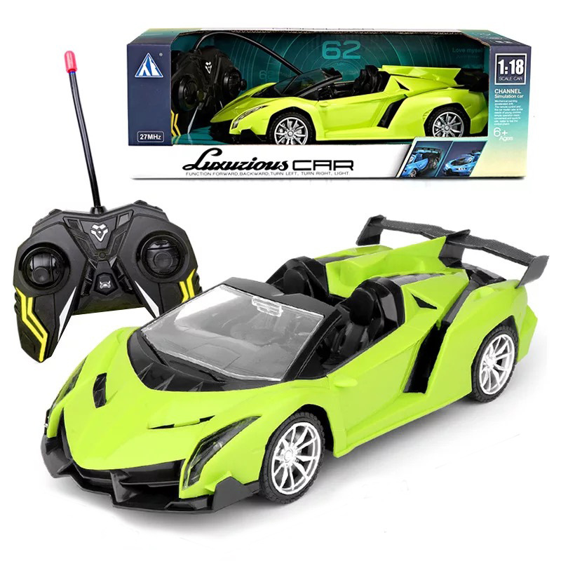 1:18 children's electric toy remote control car sports car four-channel drift remote control car mo