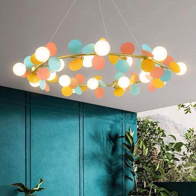 RUINI Đèn treo trần Đèn chùm nhà hàng Bắc Âu, trang trí đơn giản và hiện đại Đèn LED chiếu sáng phòn