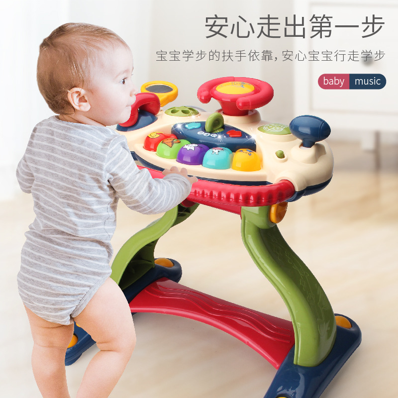 FANSHENGDA Baby walker multifunctional anti-rollover learning to walk boy baby little girl child wal