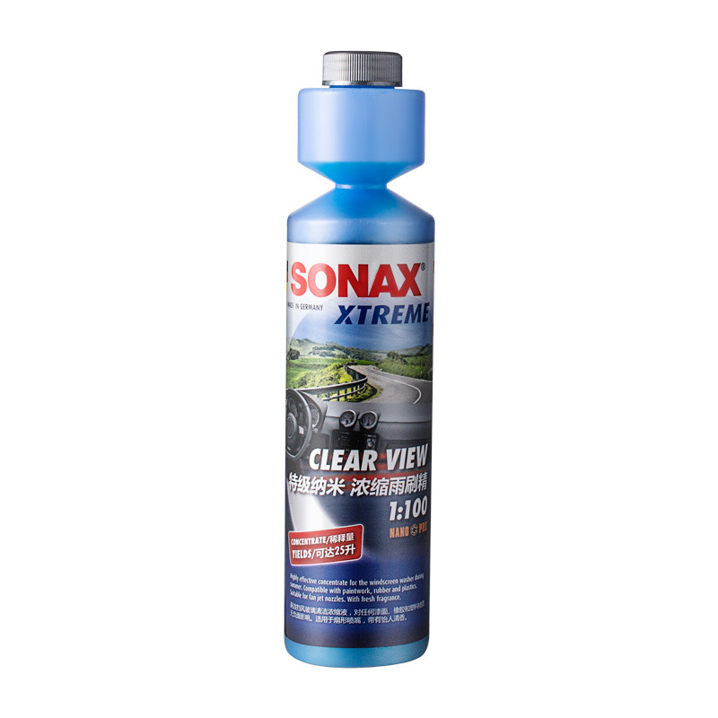 SONAX Germany imported SONAX windshield nano wiper precision front windshield water