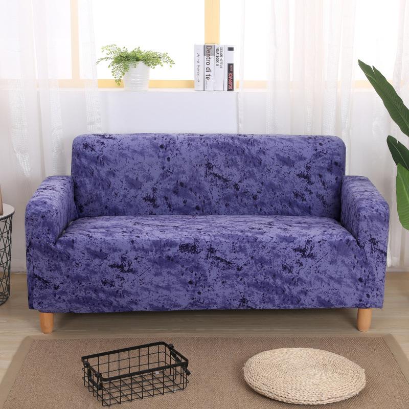 ZHENNIYUAN Printed sofa cover elastic all-inclusive non-slip sofa towel full-cover fabric modular so